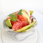 grapefruit fennel avocado cilantro salad