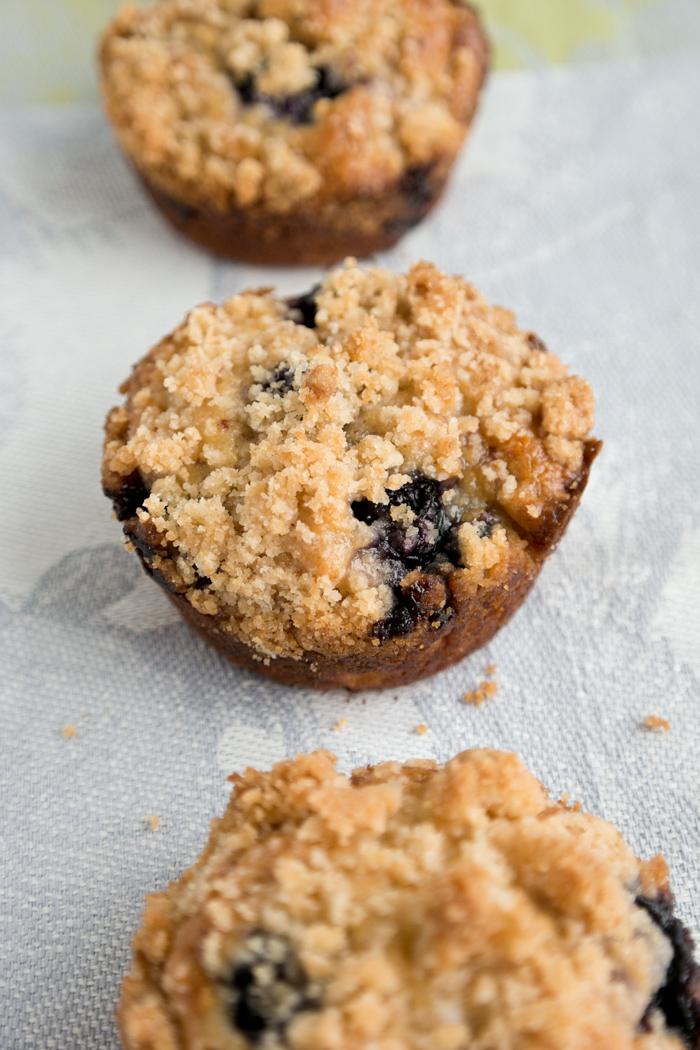 blueberry almond muffin