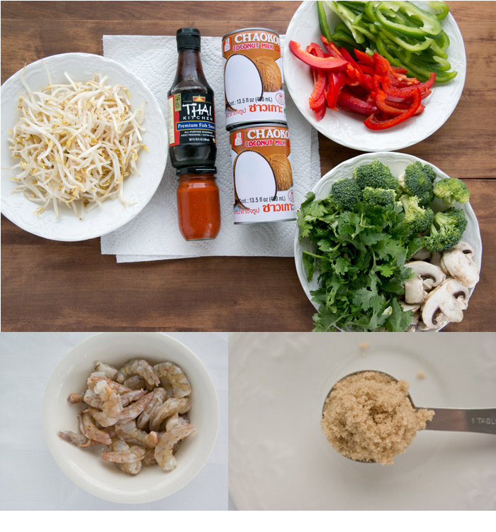 coconut-curry-shrimp-on-bean-sprouts-collage
