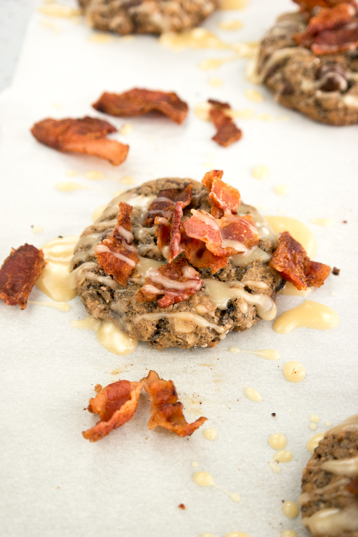 Maple Bacon Breakfast Cookie