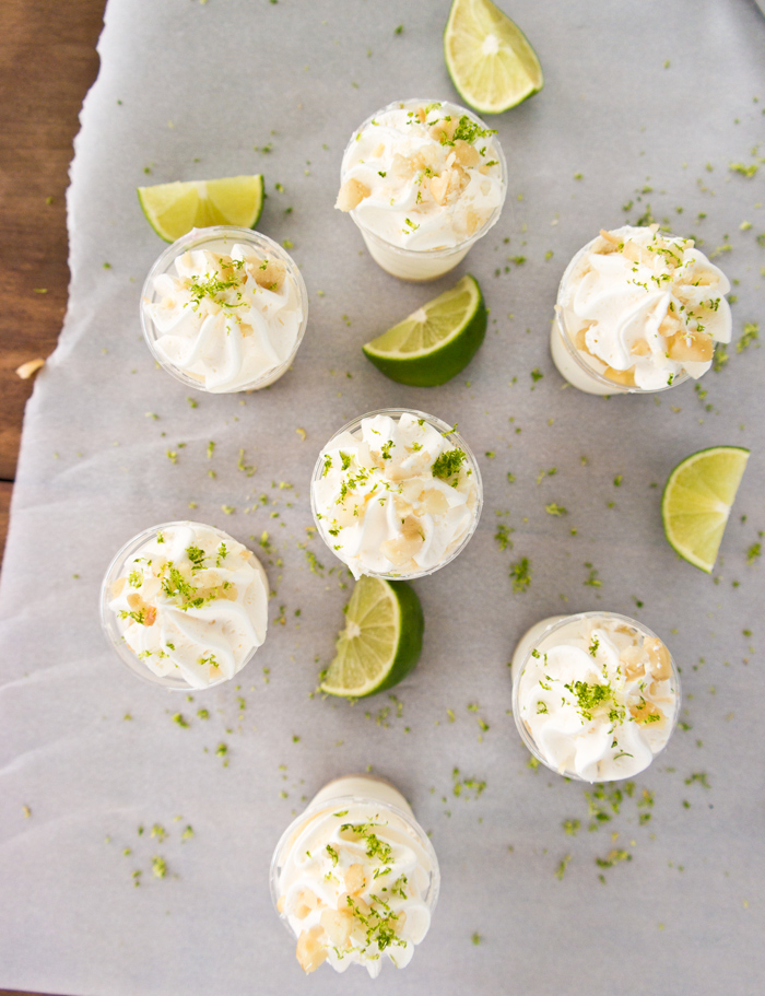 key lime pie shooters