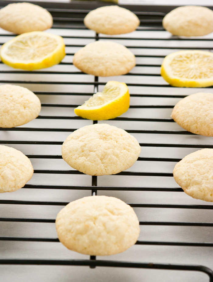 meyer lemon glace cookie