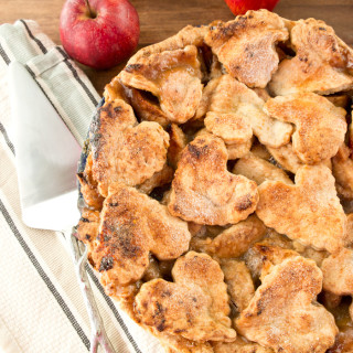 Gruyere Crusted Apple Pie