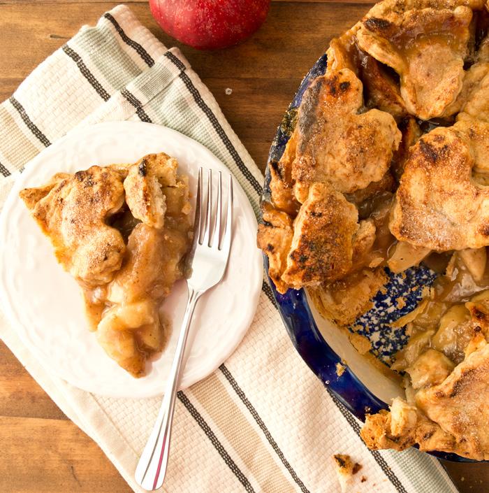 Gruyere Crusted Apple Pie