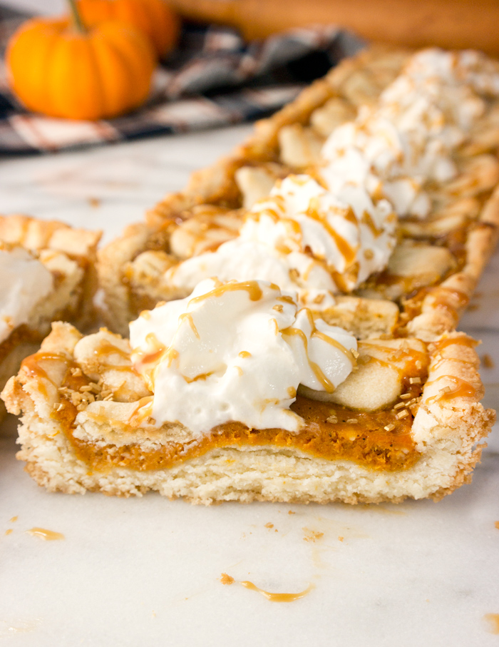 Sugar Cookie Pumpkin Tart