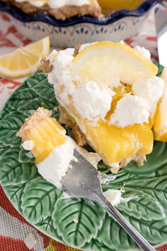 Lemon Tart With Coconut Crust