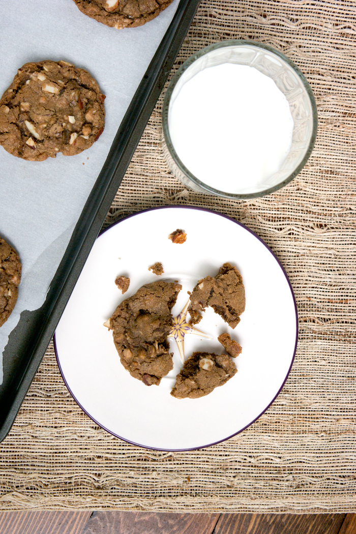 Coffee Toffee Almond Cookie