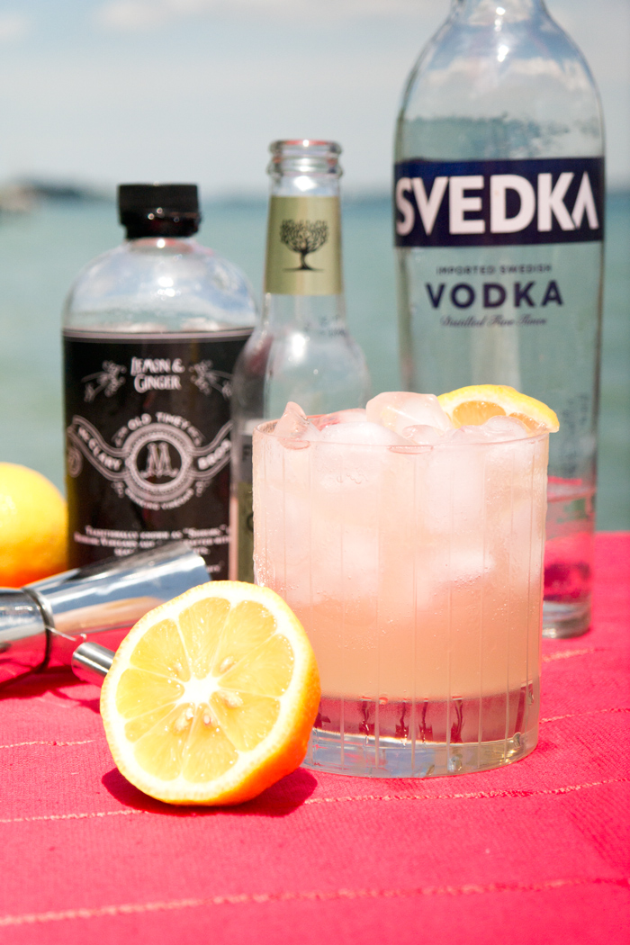 Lemon Ginger Cocktail