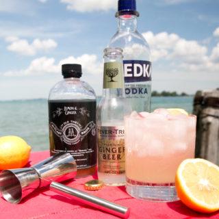 Lemon Ginger Cocktail