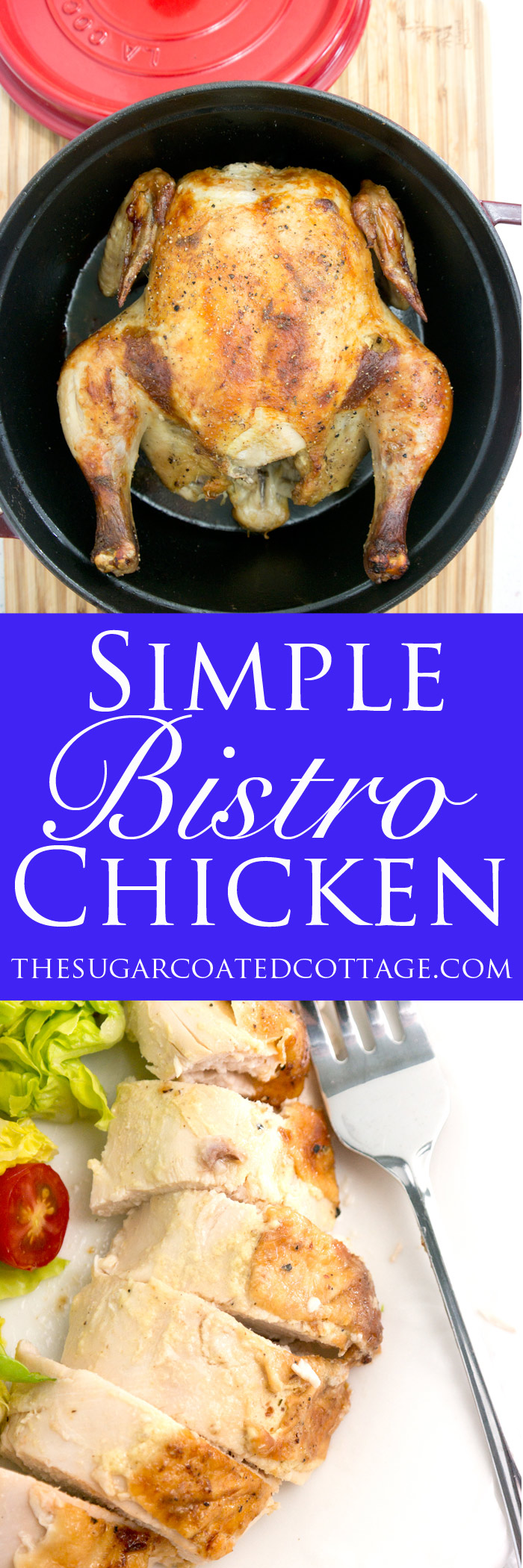 Simple Bistro Style Chicken