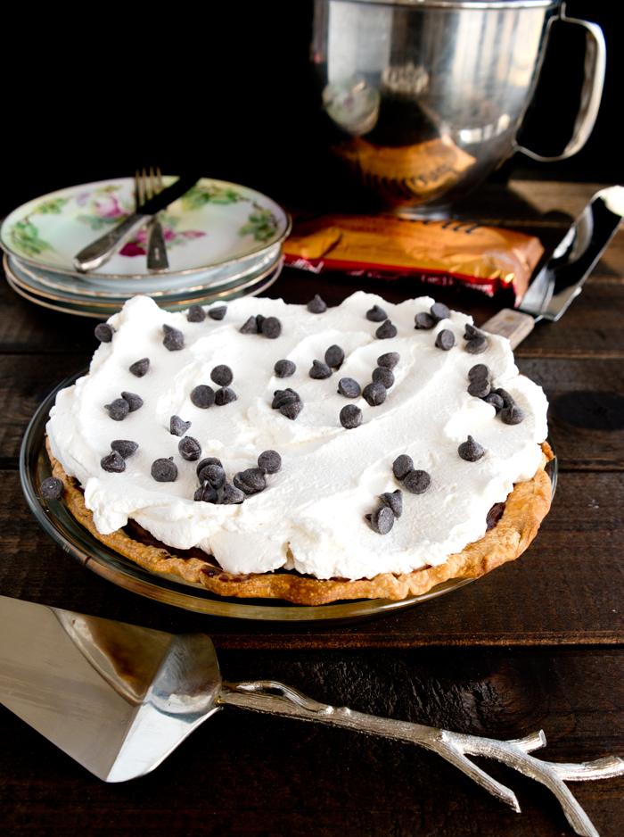 Silky Chocolate Cream Pie
