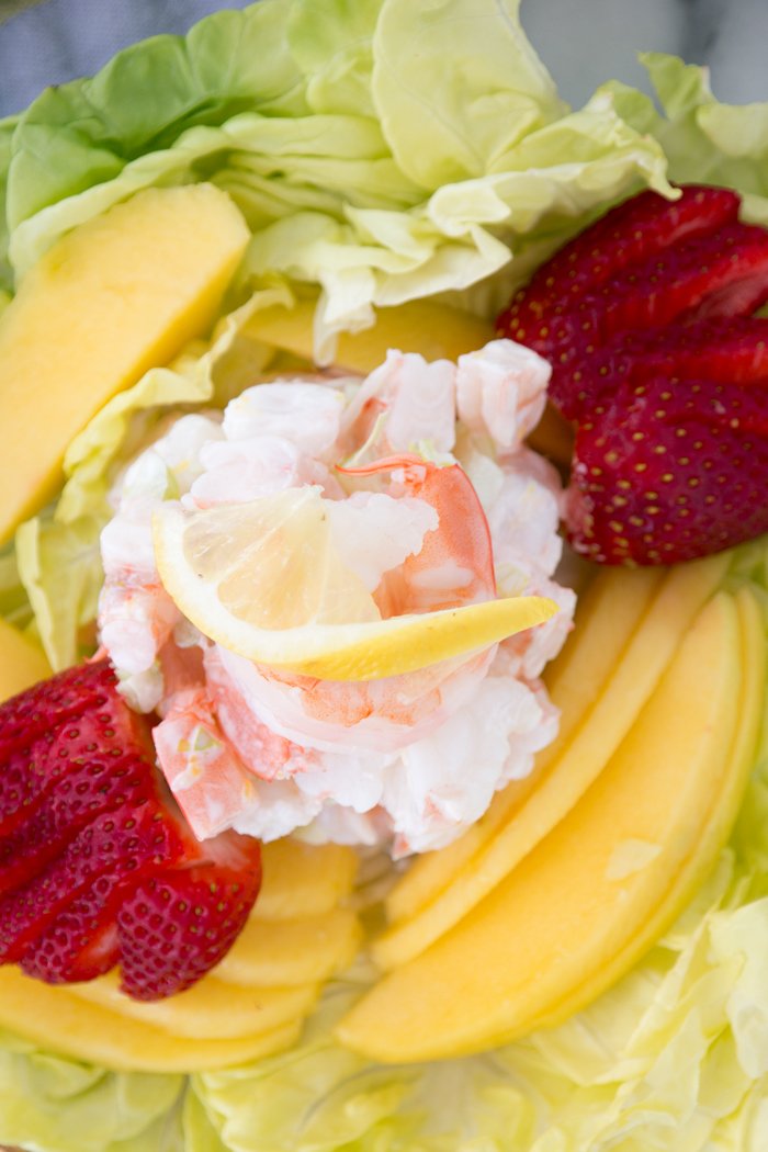 Simple Lemony Shrimp Salad