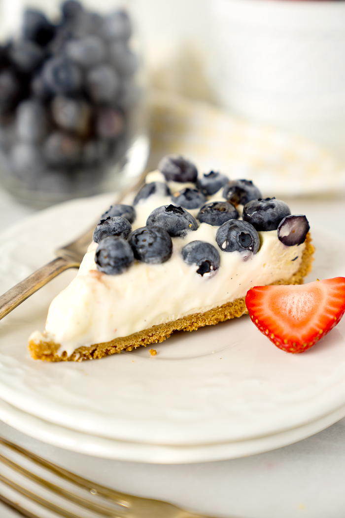 Berries and Cream Tart