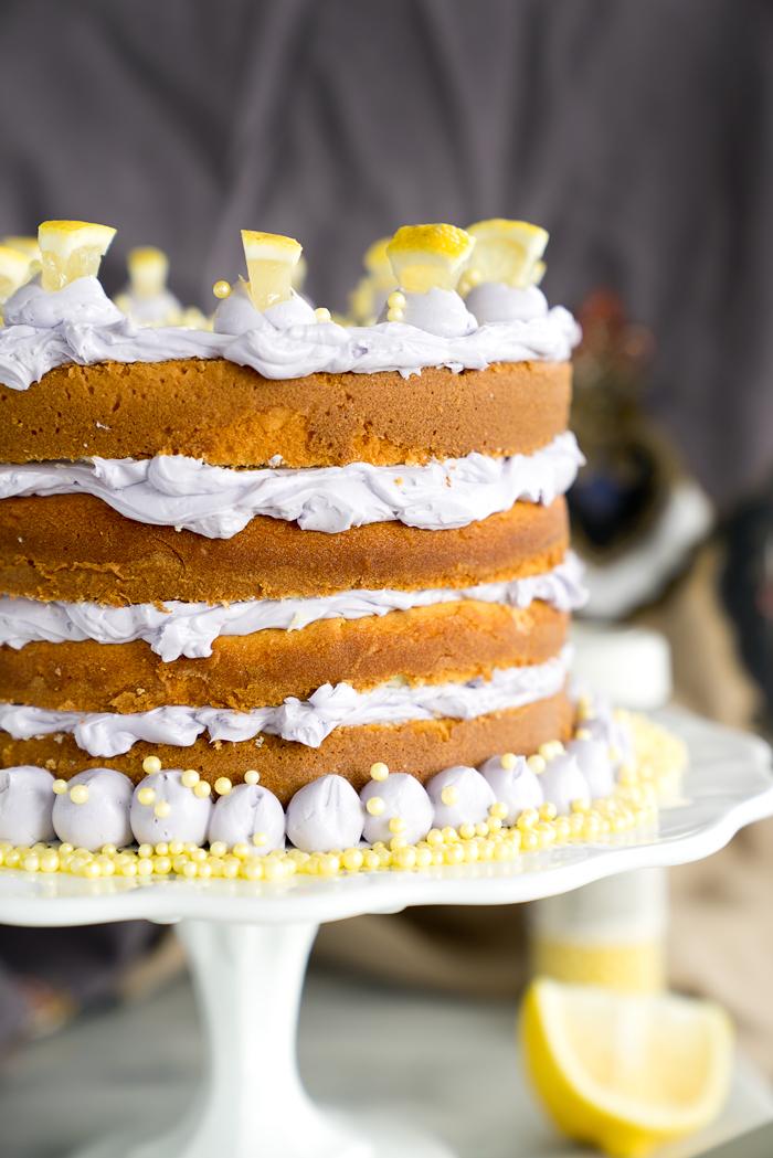 Lemon Cake Decorating Ideas
