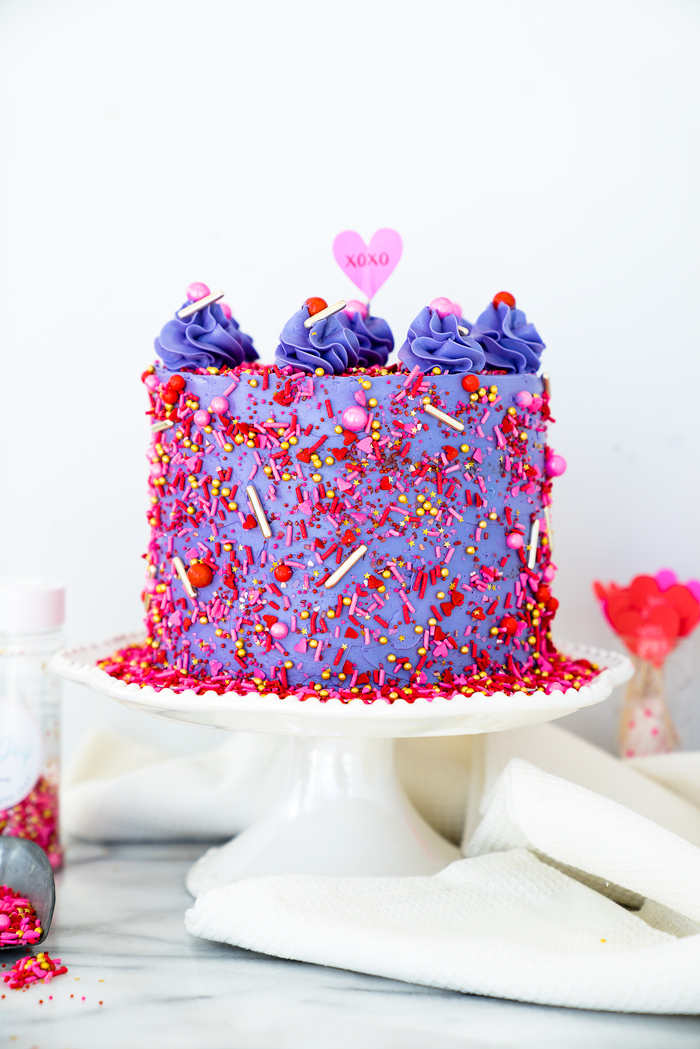 Royal Purple Velvet Cake Recipe