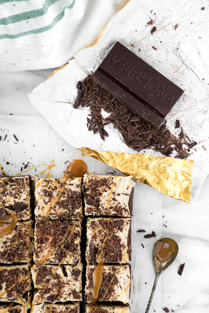 THE BEST BROOKIES ever! Half brownie, half chocolate chip cookie, whipped peanut butter frosting! | thesugarcoatedcottage.com | #brookies #brownies #peanut