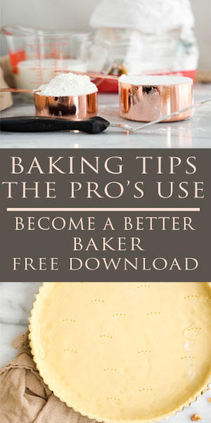 Baking tips and tricks the pro's use. Want to become a better baker? Then this is for you. Baking, baker, cake, pies, cookies, tarts, bread