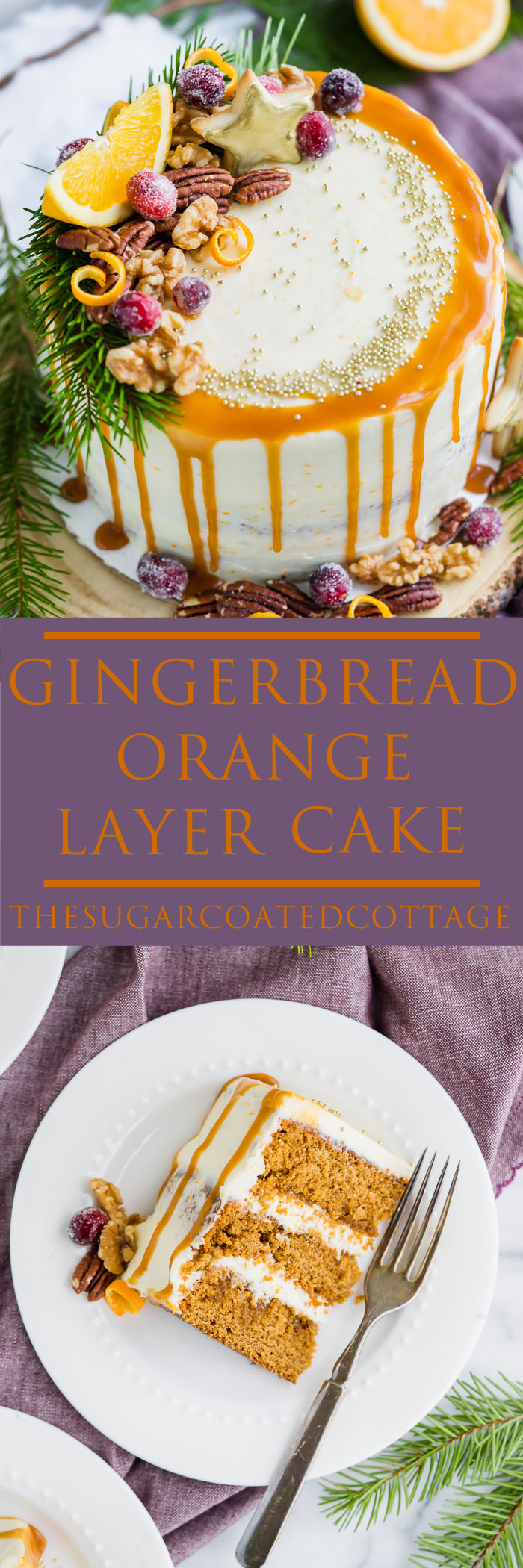 Gingerbread Layer Cake With Buttercream